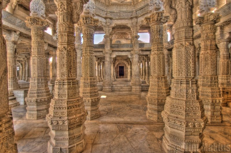 A Temple With 1444 Pillars I See India
