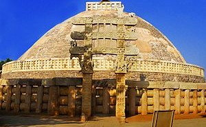 Sanchi_Stupa_from_Eastern_gate