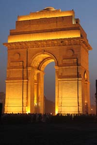 India_Gate_illuminated