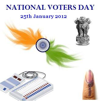 Th January  National Voters Day  I See India The Th Of January Is Observed As The National Voters Day Throughout  The Countrythe Punch Line For This Event Is Proud To Be A Voterready To  Vote