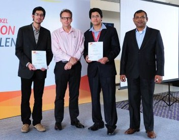 India&#8217;s representatives for the Henkel Innovation Challenge 2013