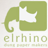 Elrhino: Saving the planet by turning poop into paper