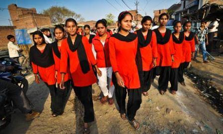 Red Brigade – A women's self-defence group that hits back at men causing trouble