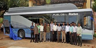 india's first hydrogen powered bus