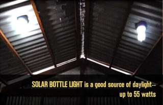 Lighting India's slums with solar bottle bulbs