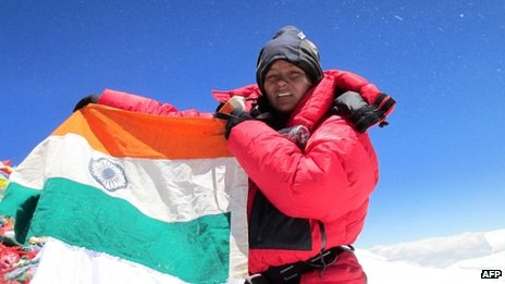 First Indian Amputee to climb Mt. Everest