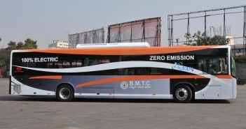 electric bus bangalore