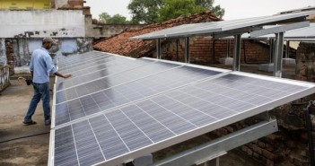 Solar Panels in Dharnai Village in India