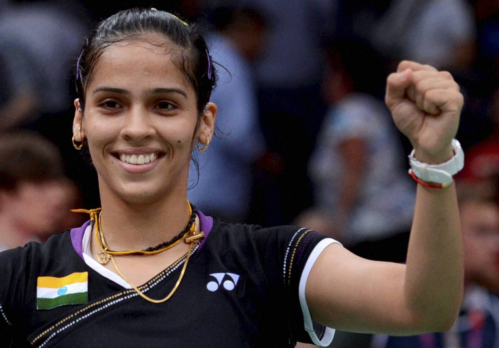 Badminton Player Saina Nehwal Player Saina Nehwal on
