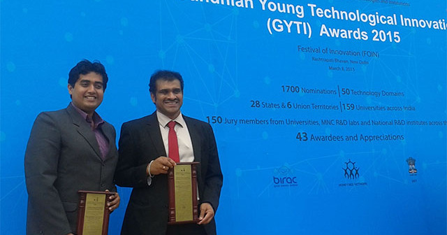 CSIR-IICT scientists get Gandhian Innovation award